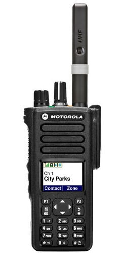 Motorola walkie-talkie range