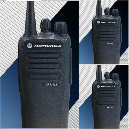 how to use the Motorola walkie-talkie